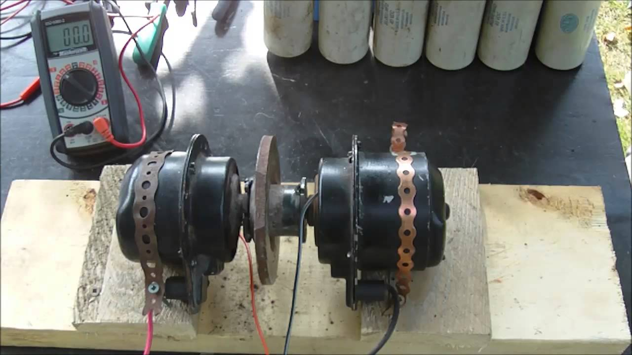 Electric Motor To Can They Self Run Youtube Alternator Ac Voltage Booster Circuit Electronic Projects