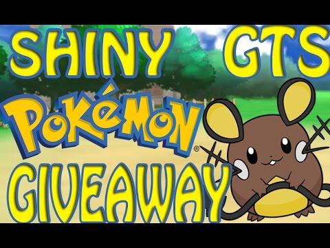 Pokemon gts giveaway oras