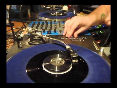 DJ Osmose 7 inch vinyl record stabilizer demo mix - Disco & Hip-Hop 45's