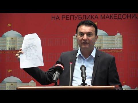 Сугарески: ВМРО-ДПМНЕ призна дека работи незаконски