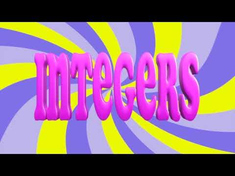 Integers are Fun