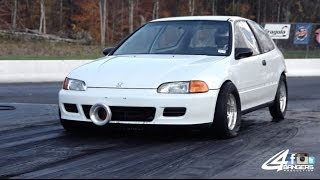 Deon's All Motor K24 Civic 1/4 Mile Times