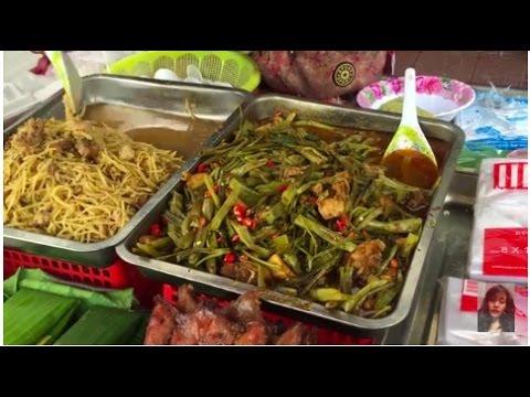 Street food compilations in Cambodia, Street food in the city, Asian street food