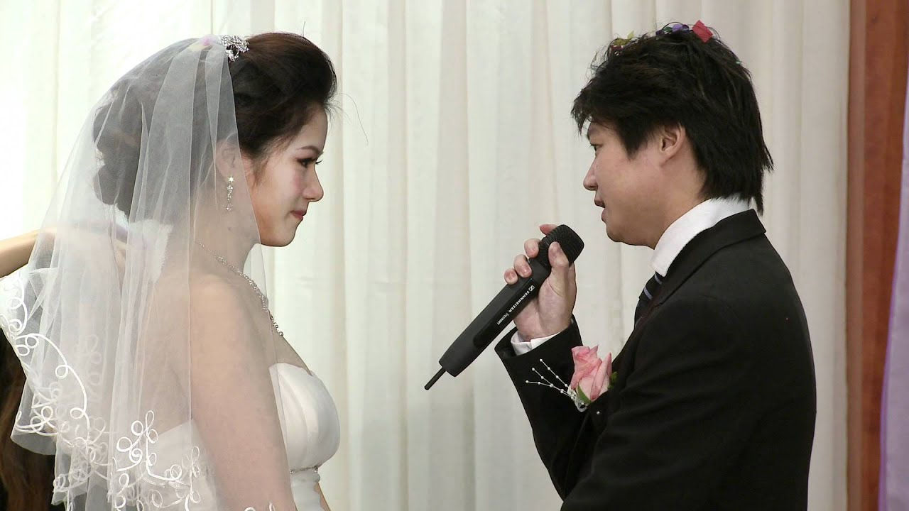 Grooms Emotional Speech A Chinese Wedding Reception Markham Toronto Videographer Photographer
