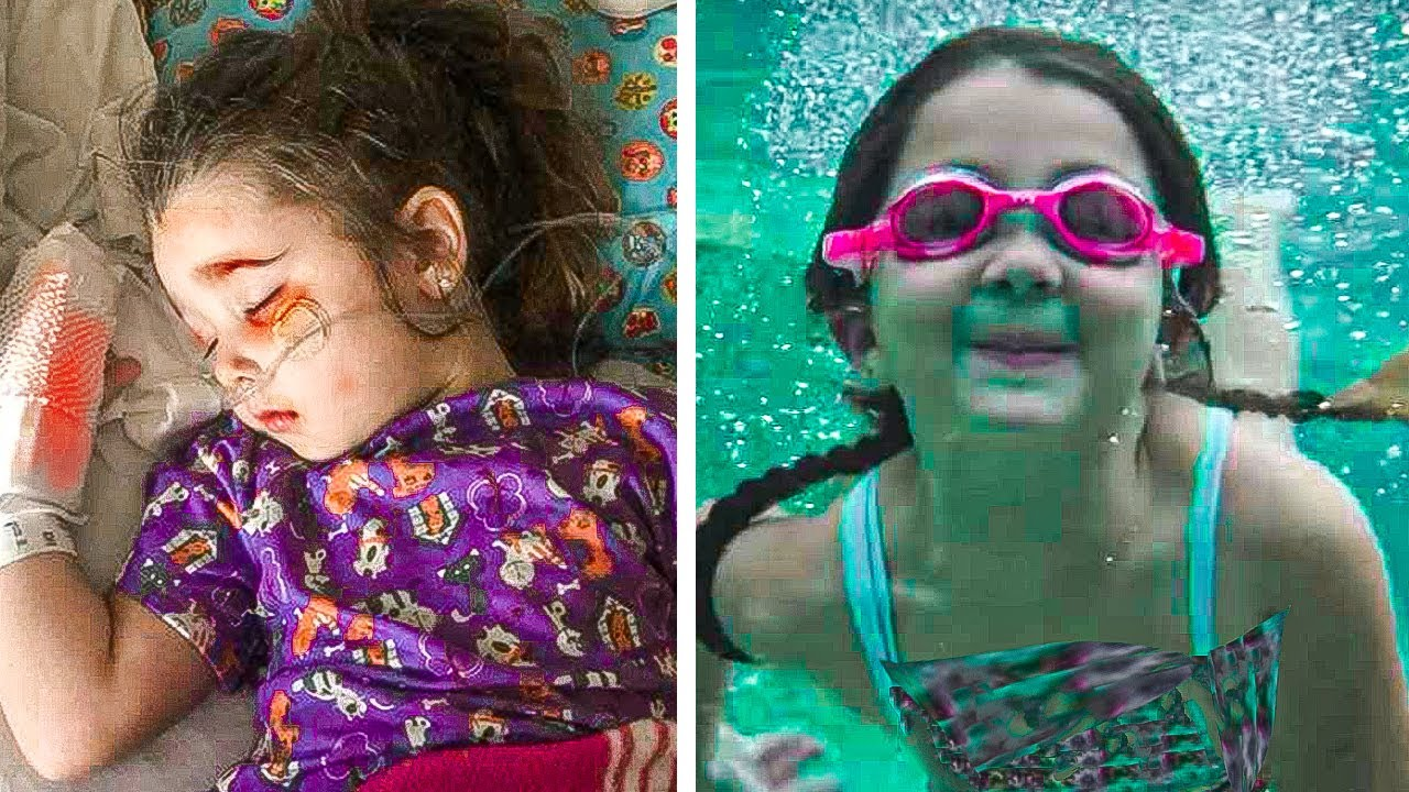 This Girl Was Saved by Her Mothers Instincts Days After Inhaling Pool Water