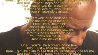 Brian McKnight - Back at one (Lyric Video) [HQ]