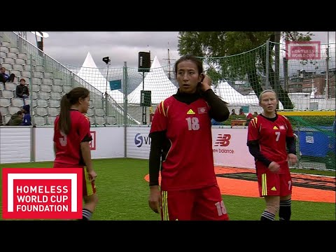 Oslo 2017 - Women's Homeless World Cup Semi Final - Kyrgyz Republic v Chile