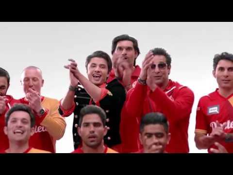 Team Anthem of Islamabad United PSL Ali Zafar, Shane Watson, Wasim Akram PSL 2017 thumbnail