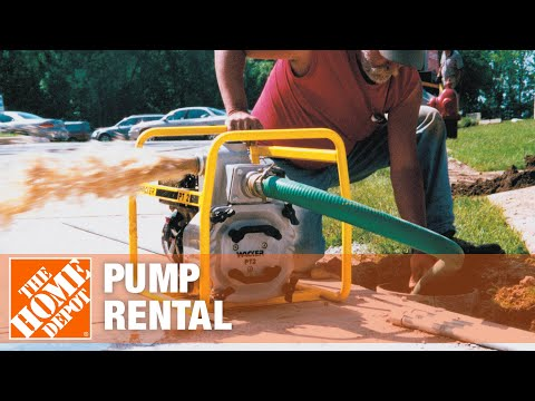 Pump Rental - The Home Depot