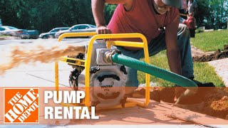 Pump Rental The Home Depot Youtube
