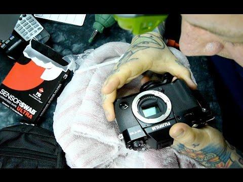 Fujifilm DIY How-To Professional SENSOR CLEANING, X-Pro2, X-T1, X-T10, X-100T, X-Pro1 etc.