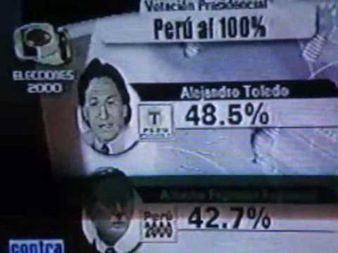 Flash Electoral 2000 - Perú (Fraude electoral)из YouTube · Длительность: 1 мин47 с