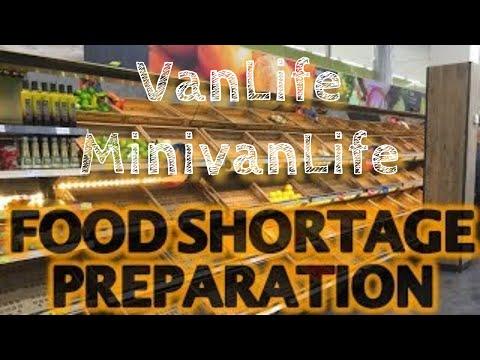 Vanlife - Food Shortage Preparations