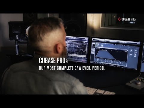 Our Most Complete DAW Ever. Period. | Cubase Pro 9 Promo Video