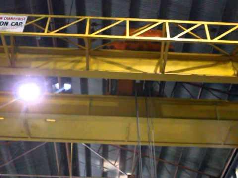 #5706 15 Ton Arrow Crane& Hoist Model 4028-AFG+ Bridge Crane, S/N 022661