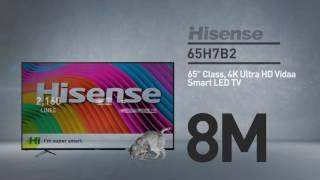 Hisense 65H7B2 H7 series 4K smart TV // Full Specs Review  #Hisense