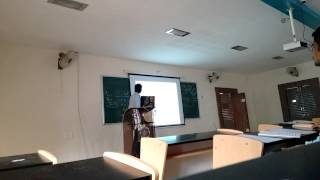 Agricultural Engineering Seminar(Farm Power and Machinery)-3