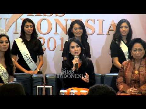 Press Conference Miss Indonesia 2015