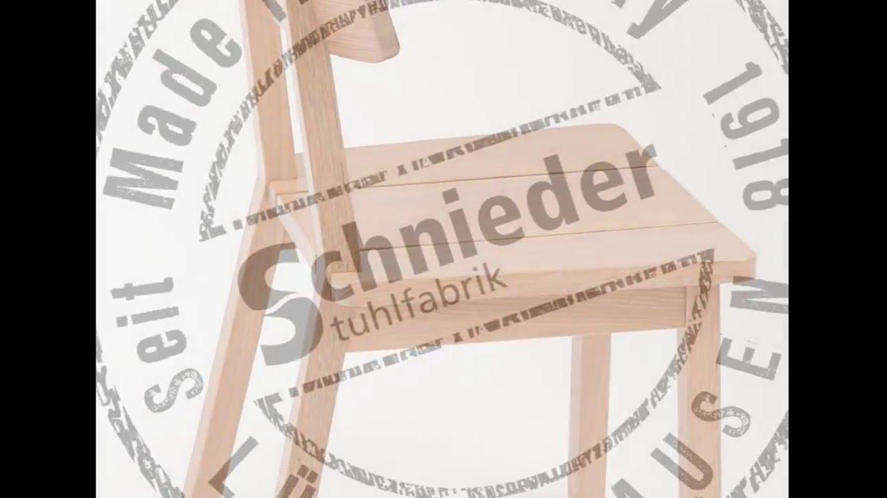 Beeindruckend Schnieder Stuhlfabrik Foto Von 11172 Stuhl Arne Neu.