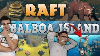 DUDUŚ NIE ŻYJE  BALBOA ISLAND - Niedźwiedzie ☆ NAJTRUDNIEJSZE ZADANIE!? RAFT #15