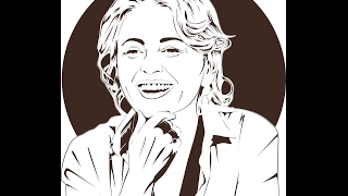 Рисование векторного портрета, Art по фото в Corel Draw