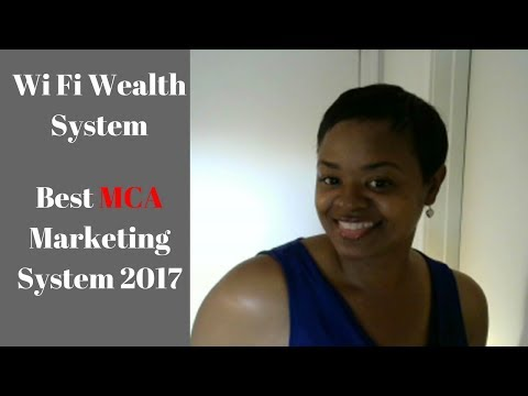 WiFi Wealth System | Best MCA Marketing System 2018