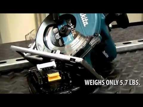 Акумулаторен ръчен циркуляр за метал MAKITA DCS550Z #b5OwyUxidF4