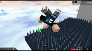 ROBLOX Ragdoll freefall game!