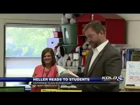 Senator Heller Visits Katherine Dunn Elementary School