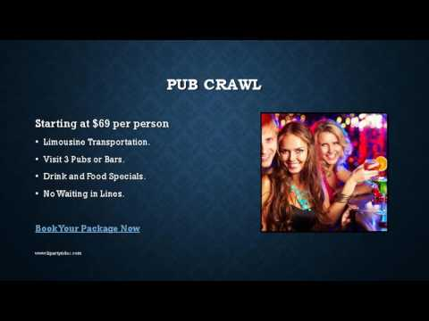 LI Party Bus Packages