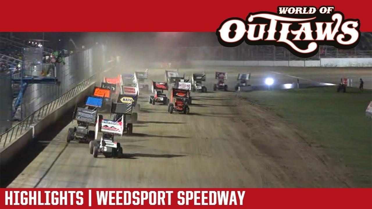 world-of-outlaws-craftsman-sprint-cars-weedsport-speedway-july-29-2018-highlights