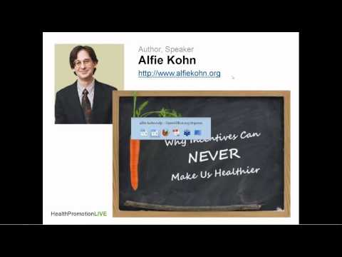 Why Incentives Can Never Make Us Healthier w/ Alfie Kohn