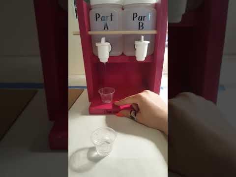 Epoxy Dispenser In Action!