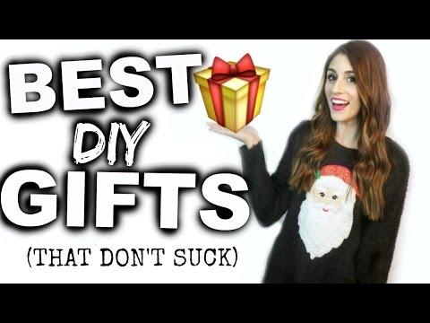 DIY Gift Ideas That DON'T Suck