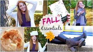 HERBST FAVORITEN: OUTFITS, FOOD, LIFESTYLE und mehr! Thumbnail