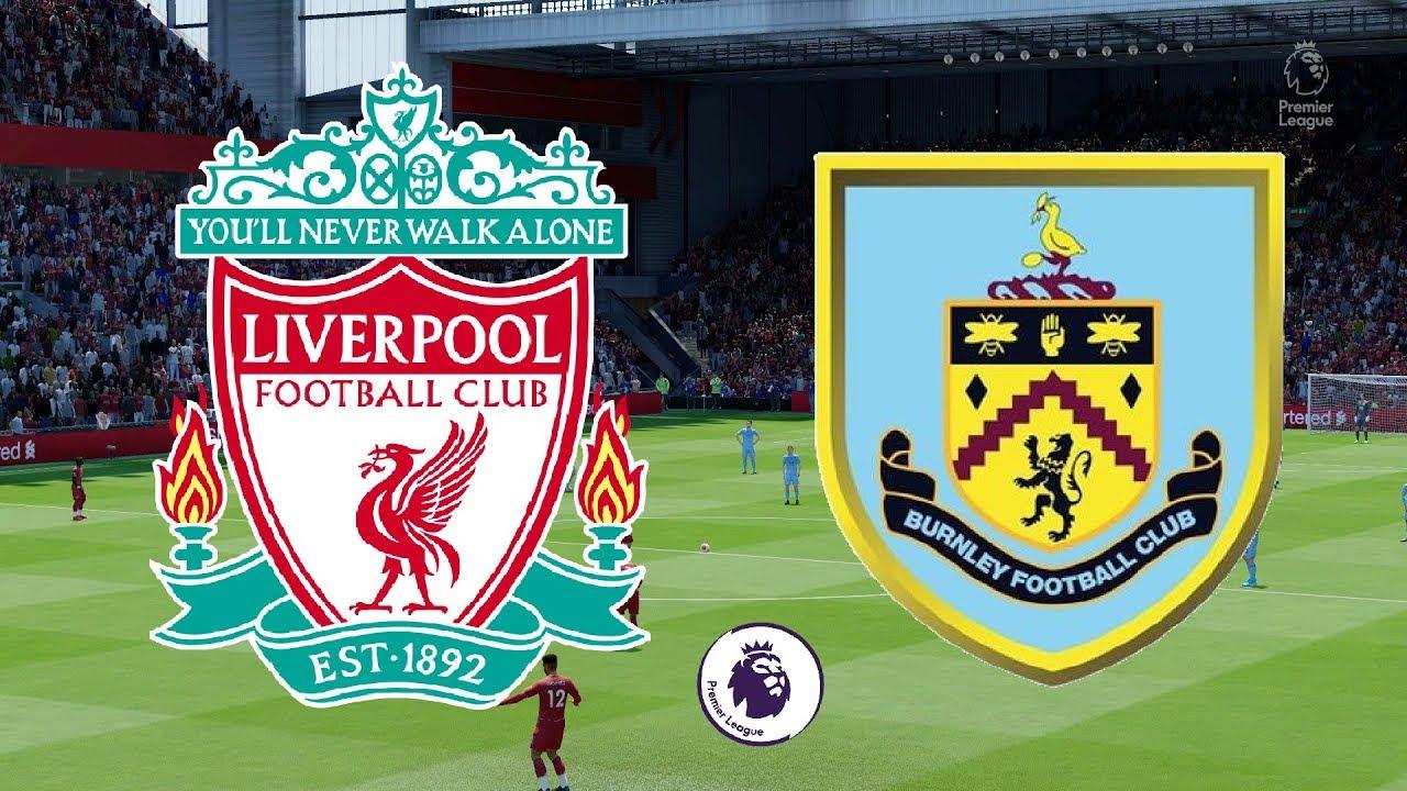 Premier League 2019/20 - Liverpool Vs Burnley - 11/07/20 - FIFA 20 - YouTube