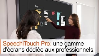 Ecran interactif SpeechiTouch Pro : les points forts