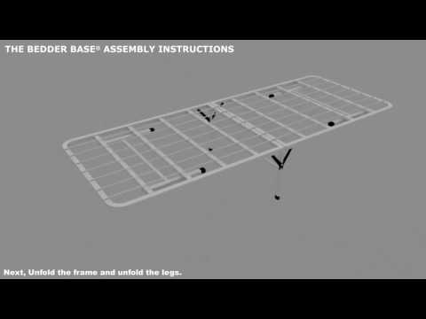 Bedder Base Assembly Instructions