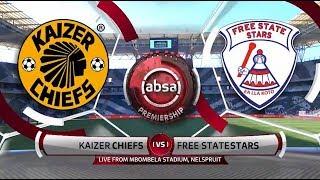 Absa Premiership 201819 Kaizer Chiefs vs Free State Stars