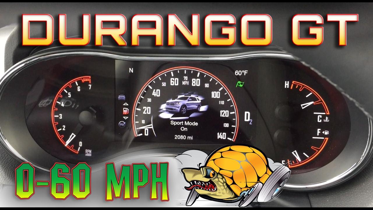 Dodge 0 60 >> 2017 Dodge Durango V6 0 60 Mph