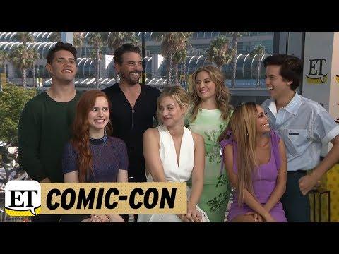 ComicCon 2018: The Cast Of Riverdale Talk Bughead In Season 3  Part 2