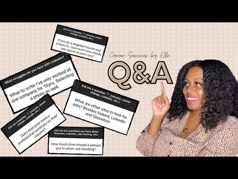 Resume Q&A with Elle
