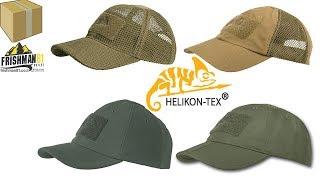 Обзор на тактические бейсболки Helikon-Tex /Helikon Tex Tactical Baseball Cap обзор