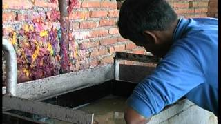 Traditional Hand Made paper making -Nepal