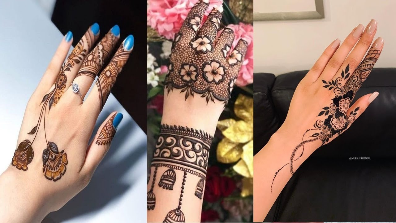 mehandi design simple new 2021