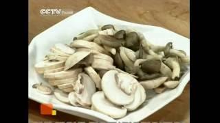 Китайская кухня. Цветная капуста с грибами. Выпуск 02