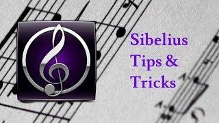 Bir daha Hızlı Sibelius 7/8 İpuçları, Hileler ve Kısayollar iş Akışı