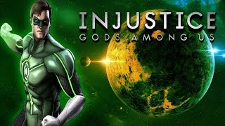 Стрим Injustice : Зелёный Фонарь - обучение и битвы !