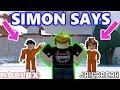 JAILBREAK SIMON SAYS FOR MONEY! *CRAZY* - Roblox Jailbreak Simon Says #1