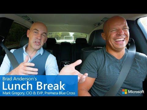 Brad Anderson's Lunch Break / s9 e6 / Mark Gregory, CIO & EVP, Premera Blue Cross